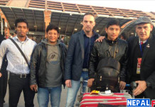 Bimal Gharti Magar returns Nepal from Netherland