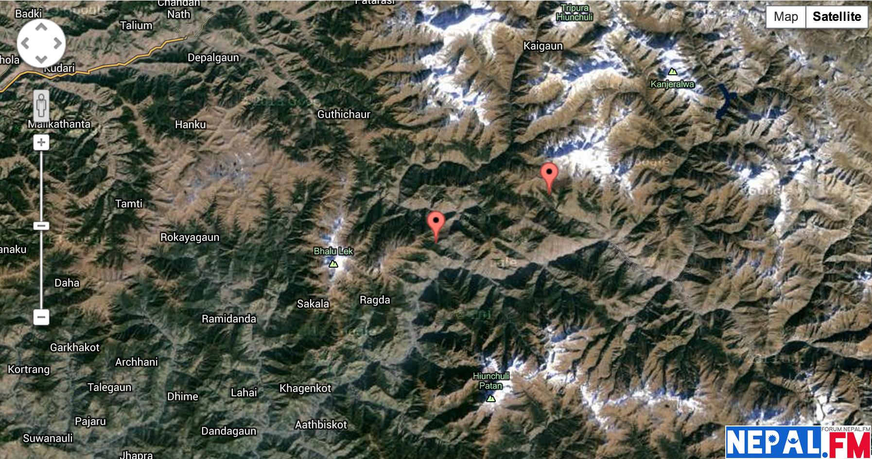 Dukacita Gempa Nepal
