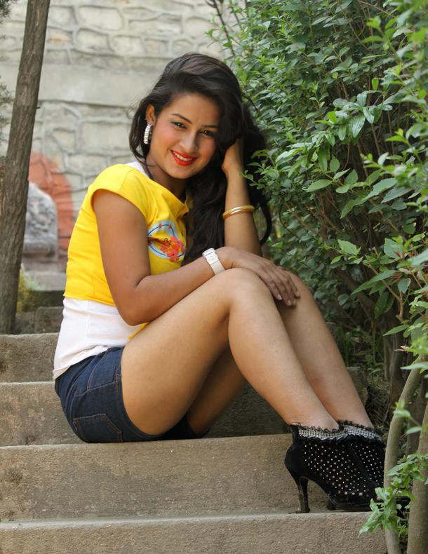Khusbu Paudel Nepali actress