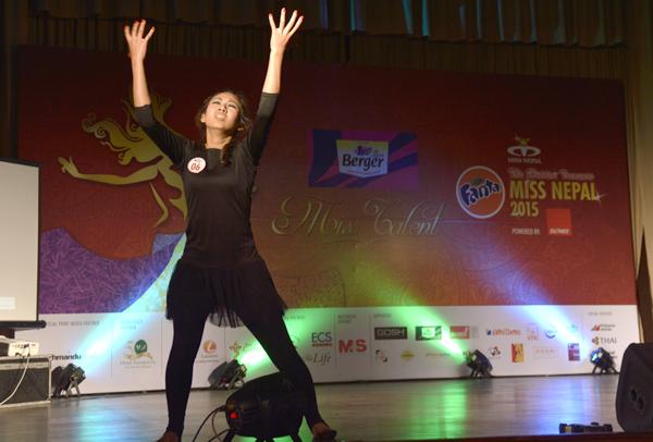 Miss Nepal 2015 Talent Round 5