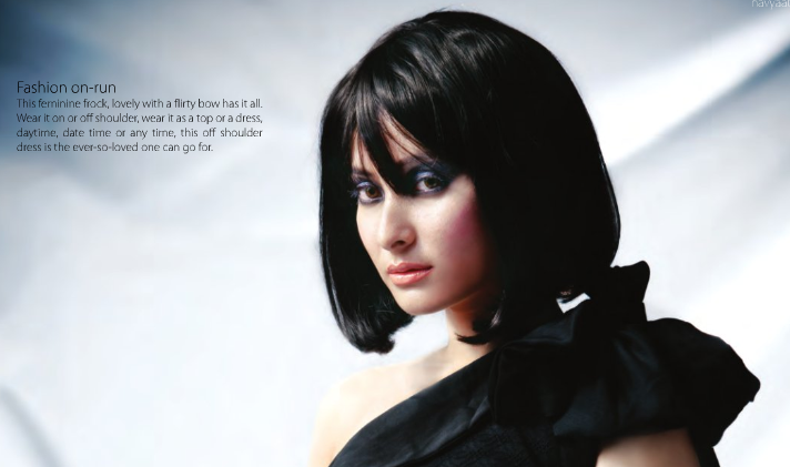 Namrata Shrestha in Navyaata Magazine in 2010