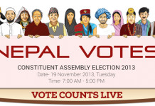 Nepal Election Vote counts live