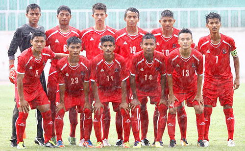 Nepal Team for Saff under 16 2013