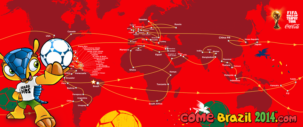 Road map of fifa worldcup trophy tour nepal road map of fifa worldcup trophy tour gumiabroncs Image collections