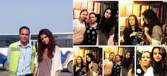 Selena Gomez Visiting Nepal